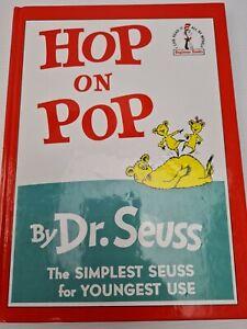 Dr Suess vintage hardcover Hop on Pop book