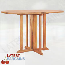 Wooden Folding Butterfly Outdoor Dining Table Patio Timber