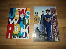 2 Books Beastie Boys AND Jews Who Rock Simon Perry Ferrell Dylan Diamond Manilow