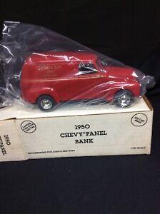Ertl Diecast Bank 1950 Chevy Panel Delivery Truck 1990 Ephrata Fair NOS