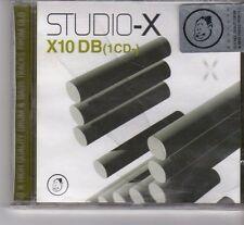 (FR727A) Glo - Studio-X - X10 Db (1cd-), 10 tracks various artists - 2002 CD
