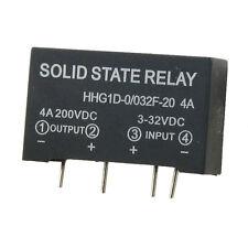 2x(Ingresso 3-32V DC Uscita 4A 200V DC 4 pin PCB relè a stato solido HK