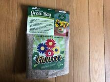 Vintage Flower Veggie Grow Bag 5 Gal Soil Capacity Deck Patio Balcony NEW