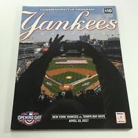 Yankees Magazine: April 10 2017 Volume 38-2 - New York Yankees vs Tampa Bay Rays
