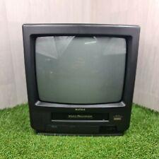 "Rare MATSUI TVR162S 14"" Portable CRT VHS TV/VCR Combo Retro Gaming TVR 162S"