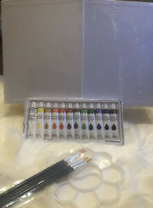 J Mark 22-Piece Acrylic Paint Kit (Read Description For Items Included In Set)