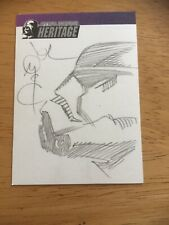 Star Wars Heritage Sketch Art Trading Card.