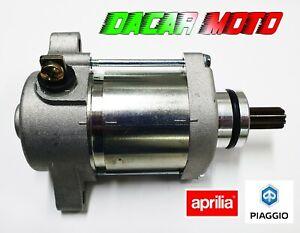 MOTORINO AVVIAMENTO STARTER  APRILIA SXV RXV 450-550 06-2011 ORIGINALE AP9150090