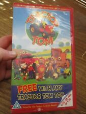 Tractor Tom The First 3 Episodes  VHS Video Tape (NEW)