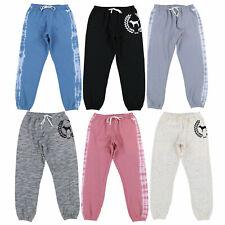 Victoria's Secret Pink Sweatpants Classic Fit Pantalón Pantalones Cordón NUEVO NUEVO CON ETIQUETAS vs