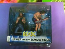 AC/DC- Brian Johnson & Angus Young PLUS COMIC BOOK