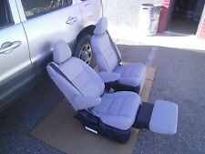 Toyota Sienna  GRAY LEATHER BUCKET SEATS RECLINERS SEATS