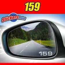 ADESIVI x specchietti 159 Alfa Romeo - PVC effetto ghiaccio vetro smerigliato