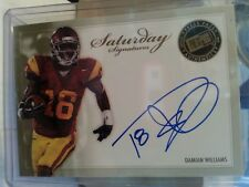 2010 Press Pass Saturday Signatures #SS-DW Damian Williams USC Trojans Auto Card