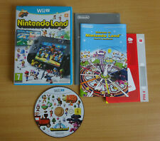 Nintendo Land Wii U Game Complete VGC Mint Disc FREE POST Nintendoland