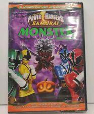 NEW Power Rangers Samurai: Monster Bash DVD THE MOVIE PowerRangers MonsterBASH