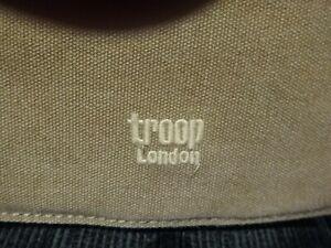 TROOP of LONDON- CROSS BODY Canvas Bag-Unisex