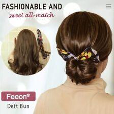 Deft Bun 6 Colors Fashion Hair Bands Women Summer Knotted Wire Headband Print Ha