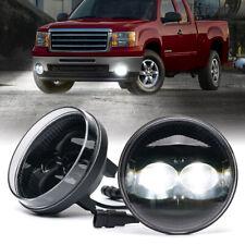 LED Fog Lights Assembly Front Bumper Driving Lamp for 2007-2013 GMC Sierra 1500