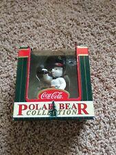 COCA - COLA  POLAR BEAR COLLECTION POLAR BEAR 2000 CHRISTMAS ORNAMENT (IN BOX)