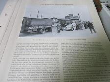 Nutzfahrzeug Archiv 2 Entwicklung 2789 Mercedes Benz Rennwagentransporter 1936
