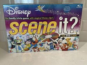 Disney Scene It? 1st Edition Disney Pixar Family DVD Trivia Game 100% Complete