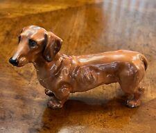Royal Doulton Porcelain Dachshund Figure Hn 1141 Excellent Condition!