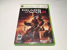 Gears of War 2 (Microsoft Xbox 360) Original Release Game Complete Nr Mint!