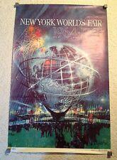 Original 1964-65 New York World's Fair Promotional Unisphere Poster (Bob Peak)