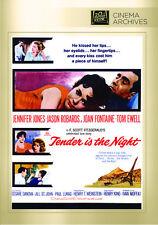 Tender Is the Night 1962 (DVD) Jennifer Jones, Jason Robards, Joan Fontaine -New