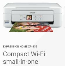 Epson Home XP-335 Expression All-in-One Printer full inks