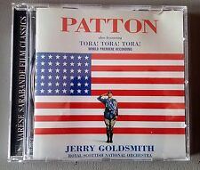 Patton - Tora Tora Tora  - Original Soundtrack - Jerry Goldsmith CD - Premiere