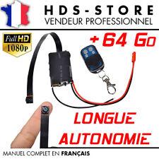 MODULE M007PC CAMERA ESPION FULL HD 1080P + CARTE 64 GO DÉTECTION VIDÉO PHOTO