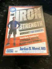 The Iron Strength Workout For Runners with Jordan D. Metzl, Md (2 Disc Set, Dvd)