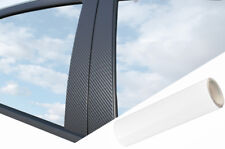 6x Premium a B C Columna Puerta Listones Película Auto Kit Blanco Mate