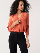NWT £226 DvF Diane von Furstenberg Sanorah silk blouse shirt tunic. Size Small