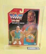VINTAGE ☆ MR perfetto UKG GRADAZIONE 90% Oro WWF HASBRO Figura ☆ MOC WWE Serie 8