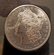 1884-CC Morgan Silver Dollar Uncirculated Sealed with Box and COA