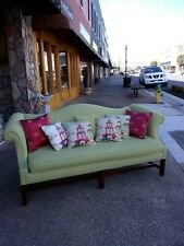 Fantastic Chippendale Sofa with New Fabric 20thc.