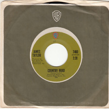 JAMES TAYLOR - COUNTRY ROAD/SUNNY SKIES - ORIGINAL WARNER BROS. 45