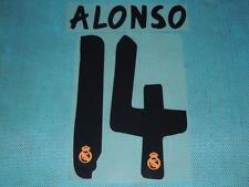 Spanish La Liga  2013-2014 Real Madrid #14 Alonso Homekit NameSet Printing