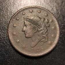 1838 Coronet Large Cent VF+/XF Very Extremely Fine Matron Head 1c