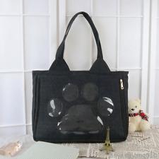 Japanese Cute Cats Transparent Clear Color Shoulder Bag Handbag Itabag Canvas