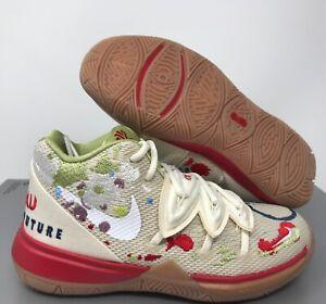 Nike Toddler Kyrie 5 Bandulu (PS) Pale Ivory-White SZ 12c [CQ9341-100]