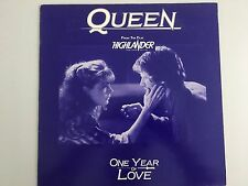 Queen - One year of love - France - promo - ultra rare unique promo only sleeve!