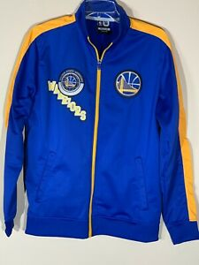 Golden State Warriors Track Jacket NBA Adult Men's medium