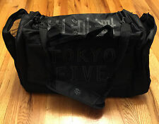 """UFC GYM TRAVEL Duffel Bag TOKYO FIVE JAPAN with Pocket  All Purpose  NEW 22"""""""