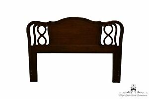 DIXIE FURNITURE Walnut Country French Provincial Queen Size Headboard 11134