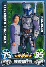 Force Attax Movie Cards 3 204 - JANGO FETT & BOBA FETT - Zusatz-Power