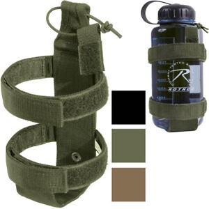 Water Bottle Holder Lightweight Tactical Carrier MOLLE Outdoor Camping Belt